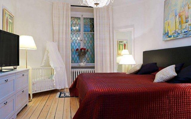 Апартаменты Luxury Apartments Stockholm комната для гостей