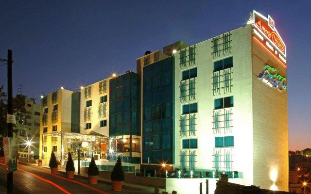 Отель Amerie Suites Hotel Иордания, Амман - отзывы, цены и фото номеров - забронировать отель Amerie Suites Hotel онлайн вид на фасад