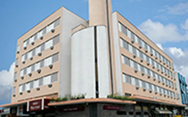 Отель Antico Plaza Hotel Бразилия, Таубате - отзывы, цены и фото номеров - забронировать отель Antico Plaza Hotel онлайн вид на фасад