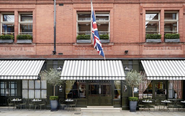 Отель Covent Garden Лондон вид на фасад