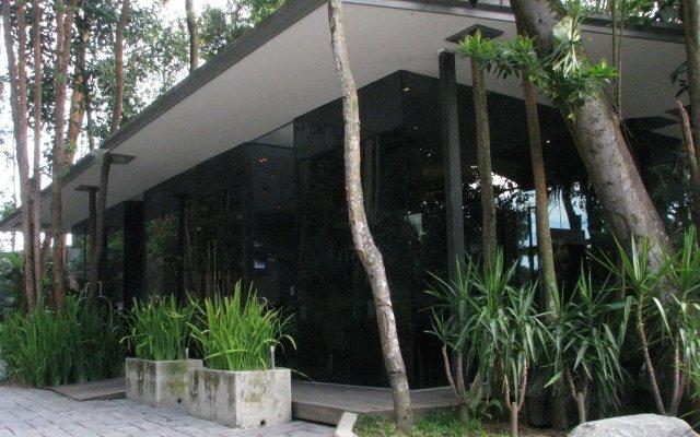 Отель Siloso Beach Resort, Sentosa вид на фасад