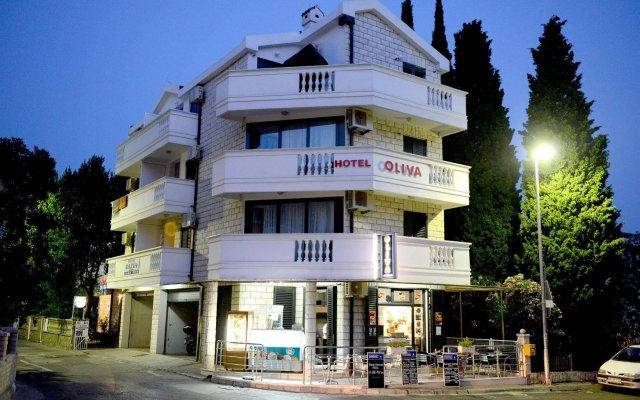 Отель OLIVA Будва вид на фасад