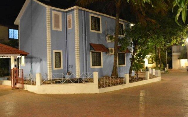 Отель Angels Resort Гоа вид на фасад