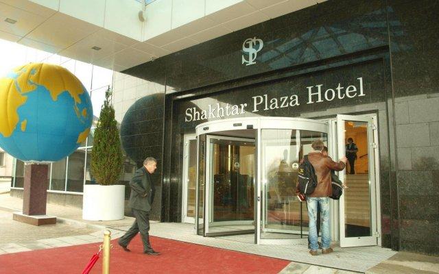 Гостиница Shakhtar Plaza Украина, Донецк - 4 отзыва об отеле, цены и фото номеров - забронировать гостиницу Shakhtar Plaza онлайн вид на фасад