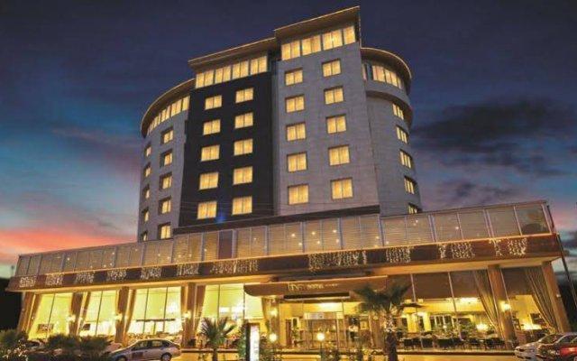 Liva Hotel Mersin Турция, Мерсин - отзывы, цены и фото номеров - забронировать отель Liva Hotel Mersin онлайн вид на фасад