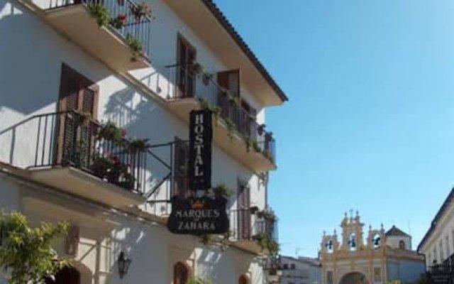 Отель Hostal Marqués de Zahara вид на фасад