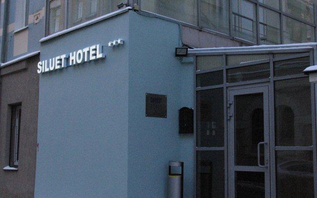 Гостиница Силуэт в Москве 10 отзывов об отеле, цены и фото номеров - забронировать гостиницу Силуэт онлайн Москва вид на фасад