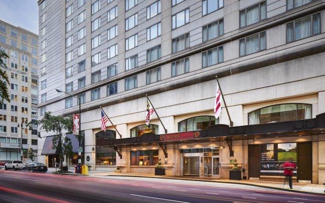 Отель Washington Marriott at Metro Center США, Вашингтон - отзывы, цены и фото номеров - забронировать отель Washington Marriott at Metro Center онлайн вид на фасад