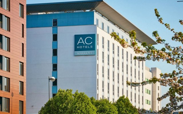 AC Hotel by Marriott, Manchester Salford Quays вид на фасад