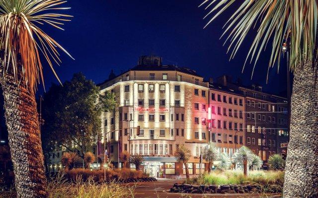 Отель Mercure Düsseldorf City Center вид на фасад