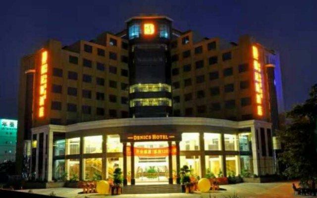 Denics Hotel вид на фасад
