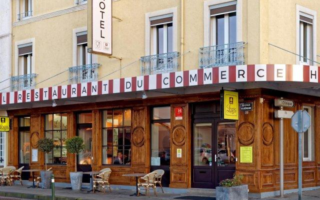 Отель Commerce et Touring вид на фасад