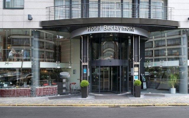 Отель NH Brussels EU Berlaymont вид на фасад