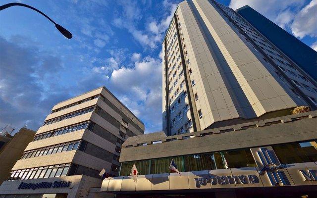 Отель Metropolitan Suites Тель-Авив вид на фасад