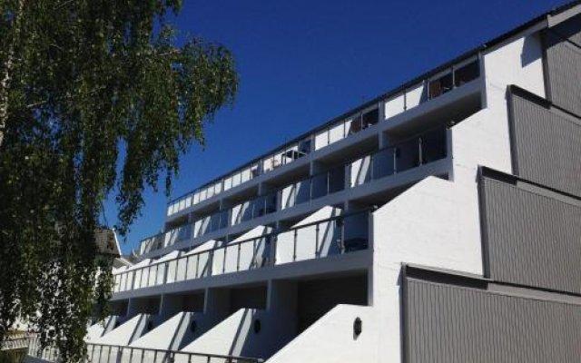 Отель Hamresanden Resort Кристиансанд вид на фасад