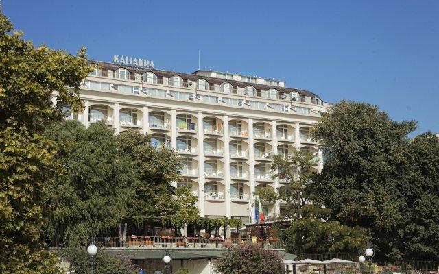 Отель Kaliakra Palace Золотые пески вид на фасад