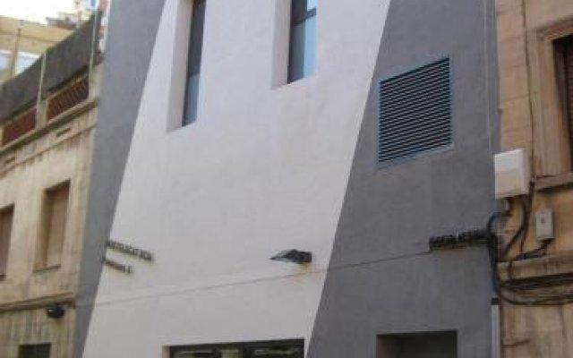 Отель Hostelscat вид на фасад