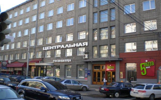 Гостиница Центральная вид на фасад