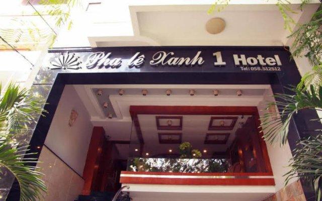 Отель Pha Le Xanh 2 Нячанг вид на фасад