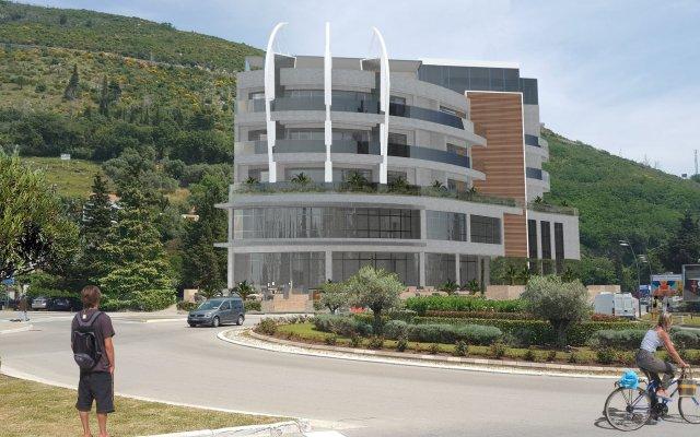 Отель Square Черногория, Будва - отзывы, цены и фото номеров - забронировать отель Square онлайн вид на фасад