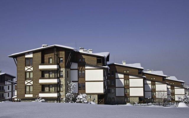 Отель Green Life Resort Bansko вид на фасад
