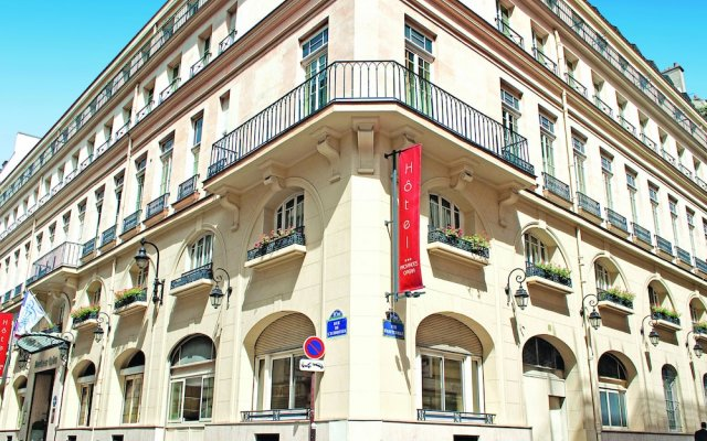 Отель Hôtel Vacances Bleues Provinces Opéra Франция, Париж - - забронировать отель Hôtel Vacances Bleues Provinces Opéra, цены и фото номеров вид на фасад
