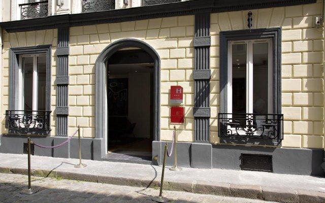 Отель Villa Boheme Париж вид на фасад