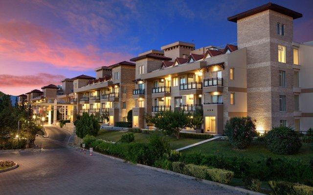 The Xanthe Resort & Spa Турция, Сиде - отзывы, цены и фото номеров - забронировать отель The Xanthe Resort & Spa - All Inclusive онлайн вид на фасад
