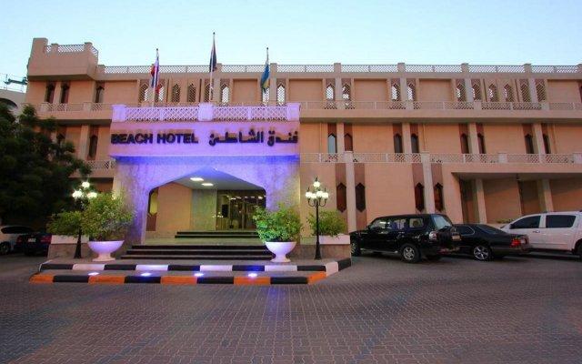 Отель Beach Hotel Sharjah ОАЭ, Шарджа - 8 отзывов об отеле, цены и фото номеров - забронировать отель Beach Hotel Sharjah онлайн вид на фасад