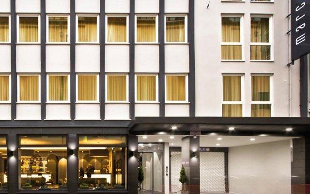 Отель MARC Мюнхен вид на фасад
