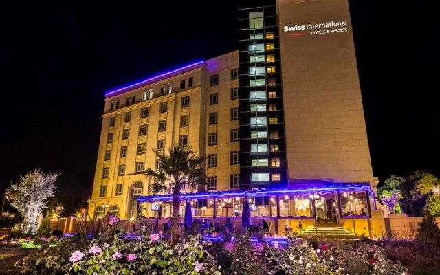Olive Tree Hotel Amman вид на фасад