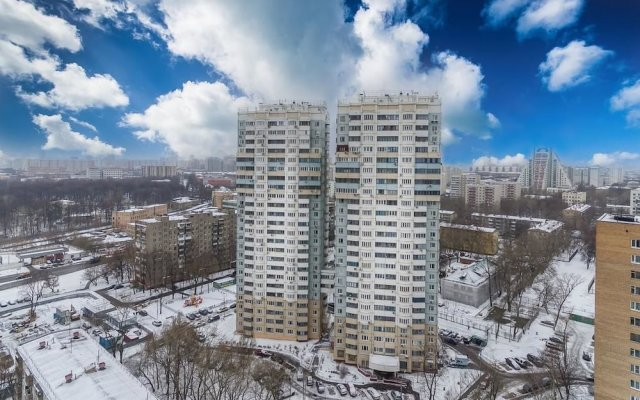 Отель Fortestate Na Dmitriya Ulyanova Москва вид на фасад