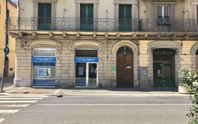 Отель B&B La Musa Ареццо вид на фасад
