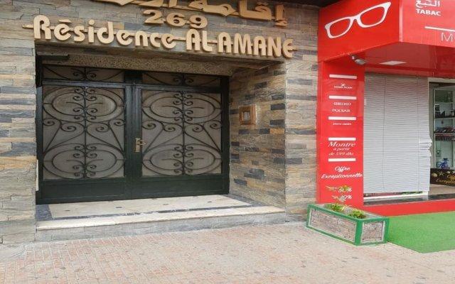 Отель Résidence Al Amane вид на фасад