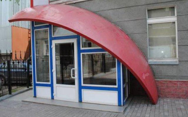 Гостиница Ассоль Новосибирск вид на фасад