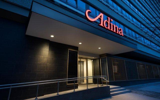 Отель Adina Apartment Hotel Leipzig Германия, Лейпциг - отзывы, цены и фото номеров - забронировать отель Adina Apartment Hotel Leipzig онлайн вид на фасад