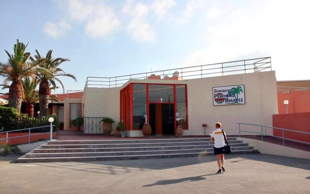 Отель Rethymno Village вид на фасад