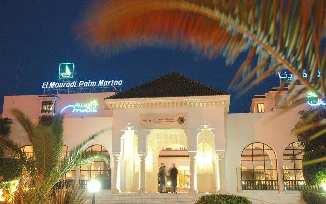 Отель El Mouradi Palm Marina Тунис, Сусс - отзывы, цены и фото номеров - забронировать отель El Mouradi Palm Marina онлайн вид на фасад