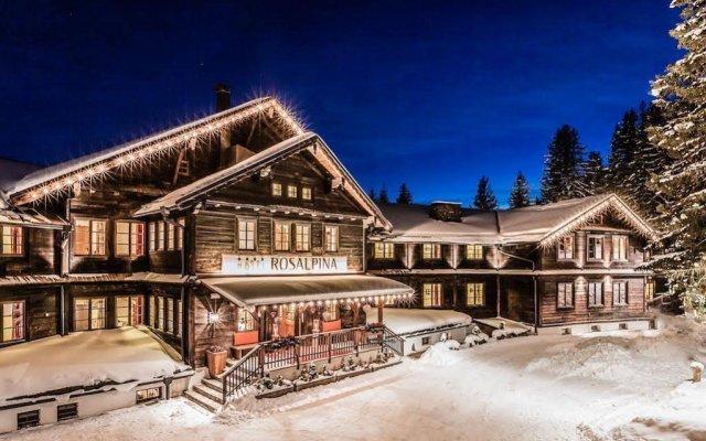 Отель Forestis Dolomites вид на фасад