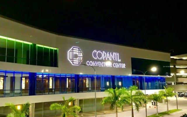 Copantl Hotel & Convention Center вид на фасад