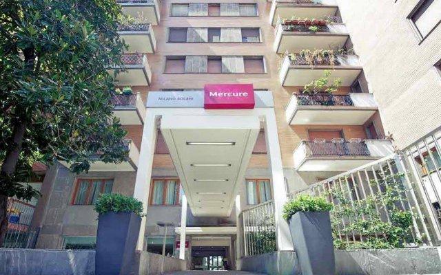 Hotel Mercure Milano Solari вид на фасад