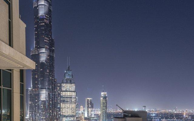 Апартаменты Dream Inn Dubai Apartments 29 Boulevard вид на фасад