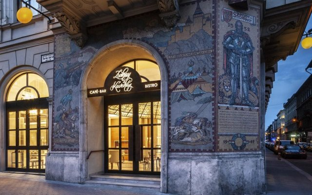 Radisson Blu Beke Hotel, Budapest вид на фасад