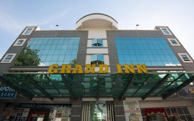 Отель Grand Inn Hotel Малайзия, Пенанг - отзывы, цены и фото номеров - забронировать отель Grand Inn Hotel онлайн вид на фасад