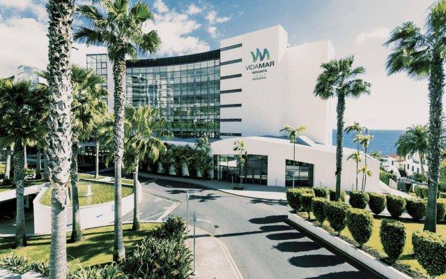 Отель Vidamar Resort Madeira - Half Board Only Португалия, Фуншал - отзывы, цены и фото номеров - забронировать отель Vidamar Resort Madeira - Half Board Only онлайн вид на фасад