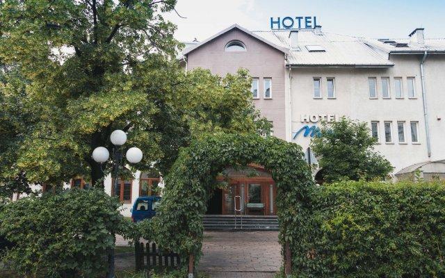 Hotel Maria Варшава вид на фасад