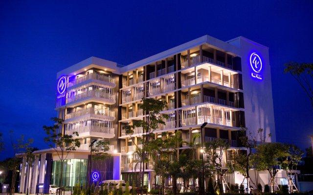 Nap Krabi Hotel вид на фасад
