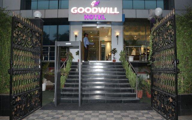 Goodwill Hotel Delhi вид на фасад