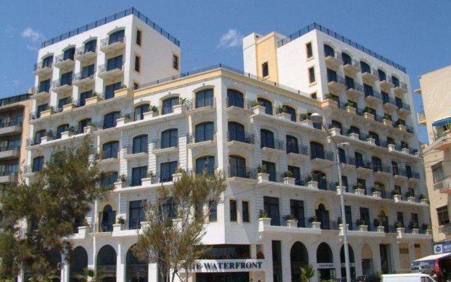 Отель The Waterfront Hotel Мальта, Гзира - отзывы, цены и фото номеров - забронировать отель The Waterfront Hotel онлайн вид на фасад