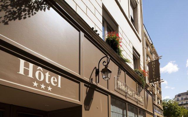 Отель Hôtel des Comédies вид на фасад